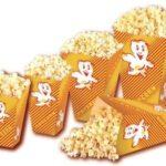 Foldebaegre til popcornmaskiner udlejer hos Koelemanden.