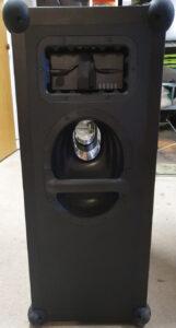 Koelemandens soundboks 3 set fra bagsiden.
