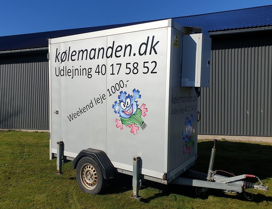 Trailer udlejning - Koelemandens lille koeletrailer.