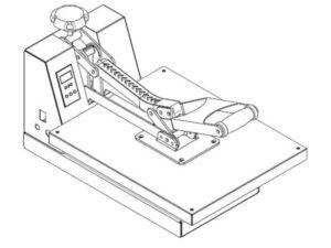 Illustration af Koelemandens varmepresse
