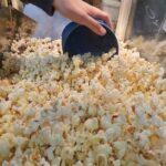 Popcorn klar til spisning