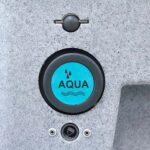 Vandpaafyldningshul paa mobil haandvask fra Koelemanden