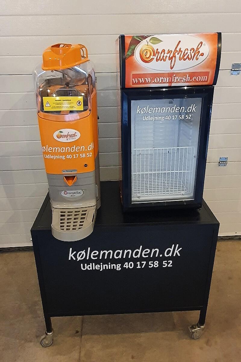 Appelsinpresser hos Kølemanden