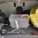 Et eksempel på teknikrum i badmobilerne.